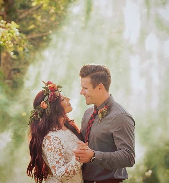 Chelsea houska and cole deboer wedding throwback
