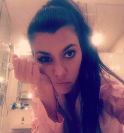Kourtney Kardashian, Up Close