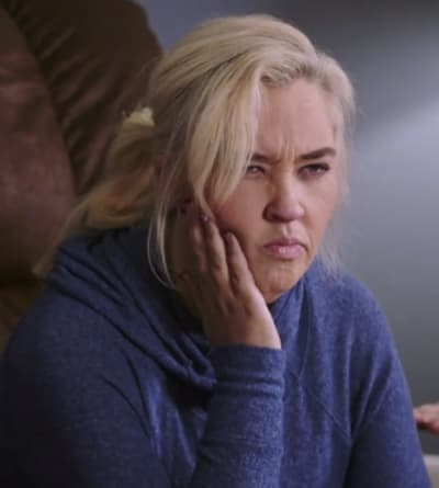 Mama June Pouting