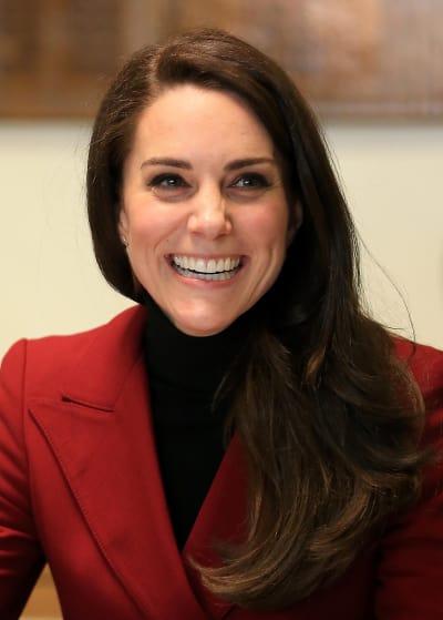 Kate Middleton is Smiling