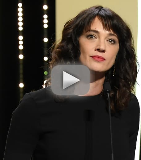 Asia argento to cannes harvey weinstein raped me here