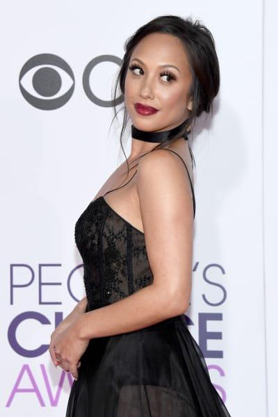 Cheryl Burke at People's Choice Awards