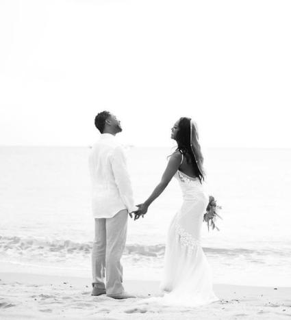 Kenya Moore Wedding Picture
