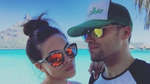 Katie Maloney and Tom Schwartz Honeymoon Photo