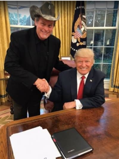 The Donald and The Nuge