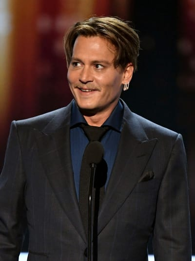 Johnny Depp People's Choice Awards Photo