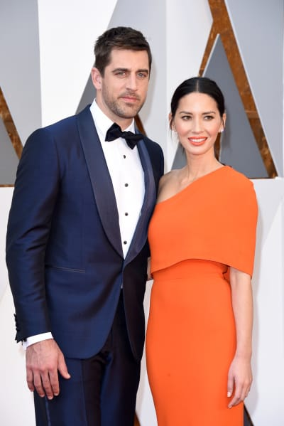 Olivia Munn and Aaron Rodgers Photo