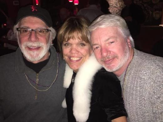 Amy Roloff and Chris Marek, Christmas Party 2017