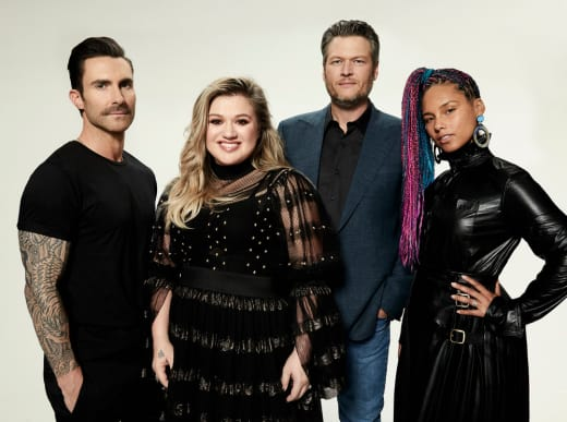 The Voice Season 14 Panel