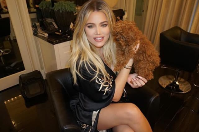 Khloe kardashian new face