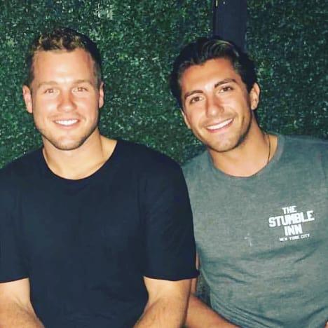 Colton Underwood and Jason Tartick
