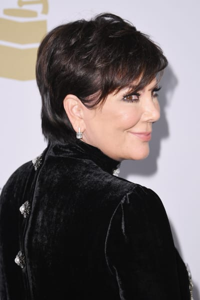 Kris Jenner with a Smirk
