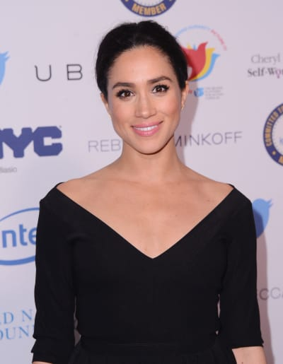 Meghan Markle Throwback Pic