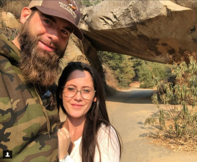 Jenelle and david hiking