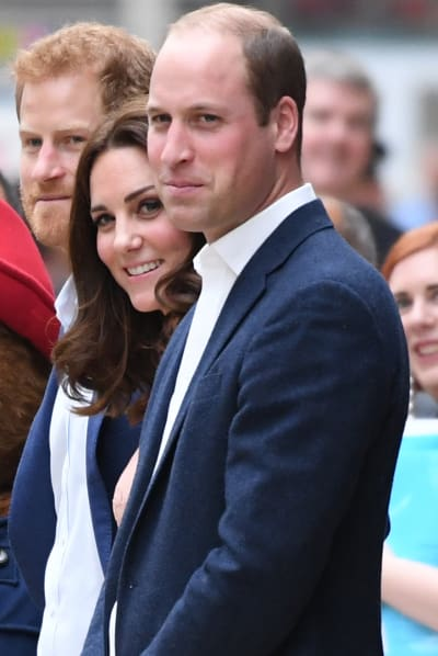 Kate Middleton and 2 Princes