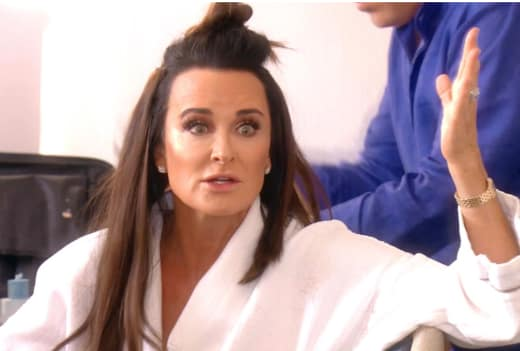 Kyle Richards Is Not Impressed