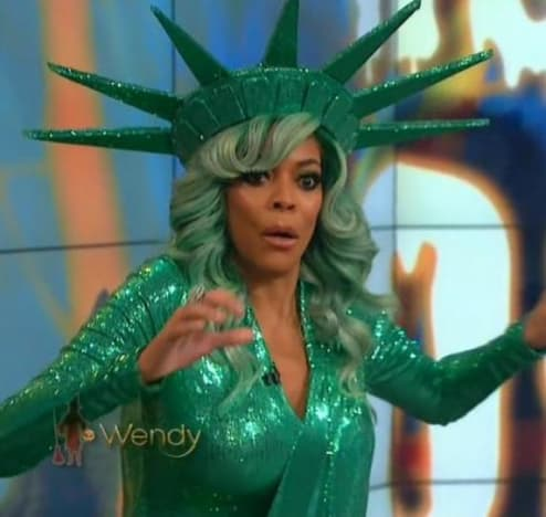 Wendy Williams Goes Down