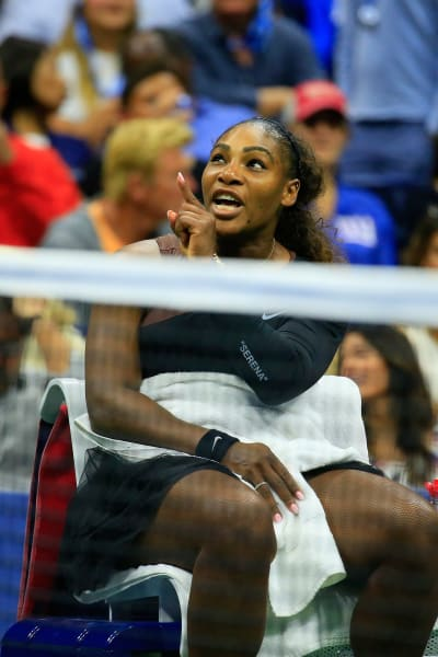 Serena Williams at the Open