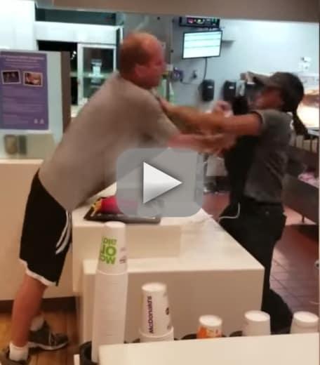 Florida man attacks mcdonalds employee over straw policy