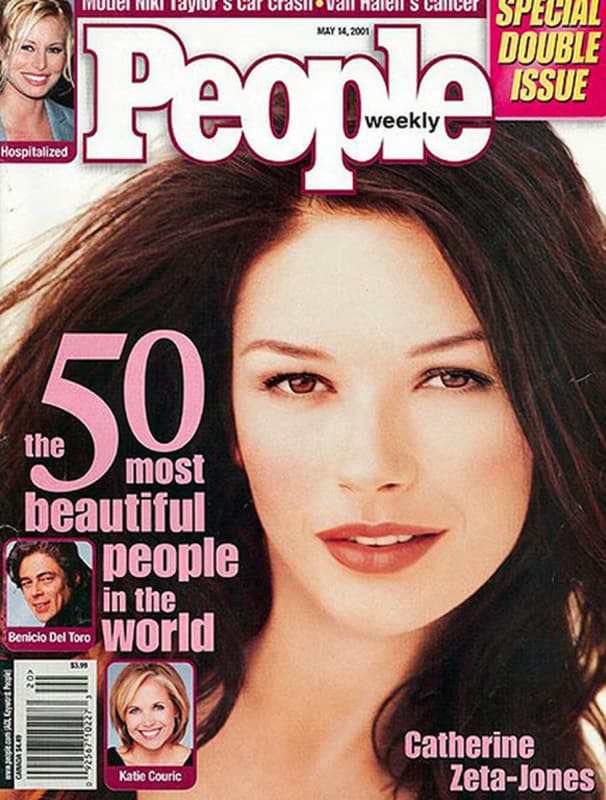 Catherine zeta jones people cover