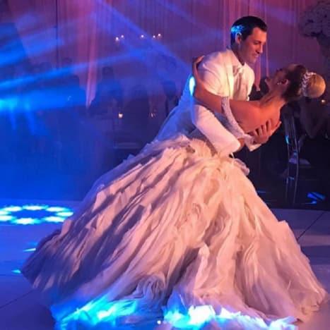 Maksim Chmerkovskiy and Peta Murgatroyd Dance