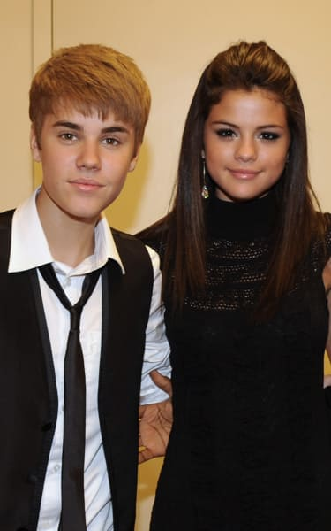 Justin Bieber and Selena Gomez in 2011