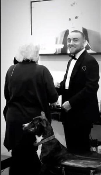 Mac Miller at the Oscars