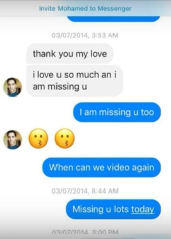 Danielle Mullins and Mohamed Jbali Texts 01