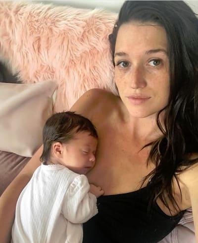 Jade Roper and Newborn Baby