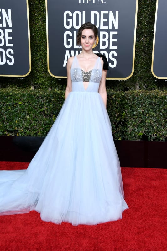 Alison brie at the globes