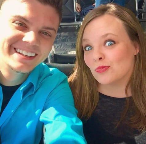Catelynn Lowell Tyler Baltierra selfie