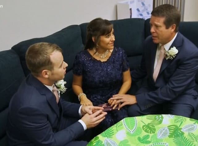 Joseph duggars pre wedding prayer