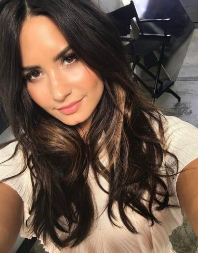 Demi Lovato on Camera