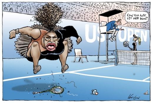 racist cartoon