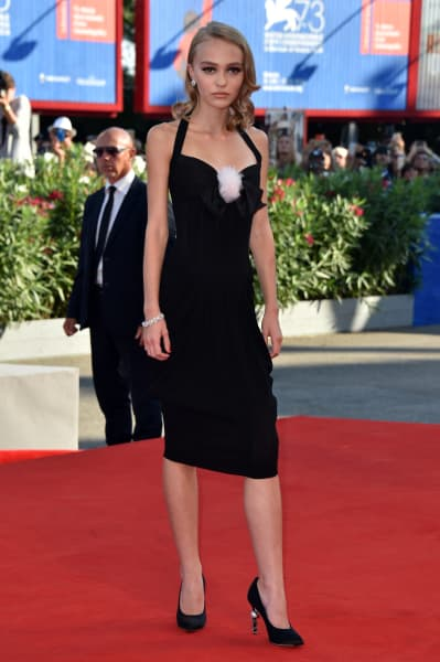 Lily Rose Depp: Skinny on the Red Carpet