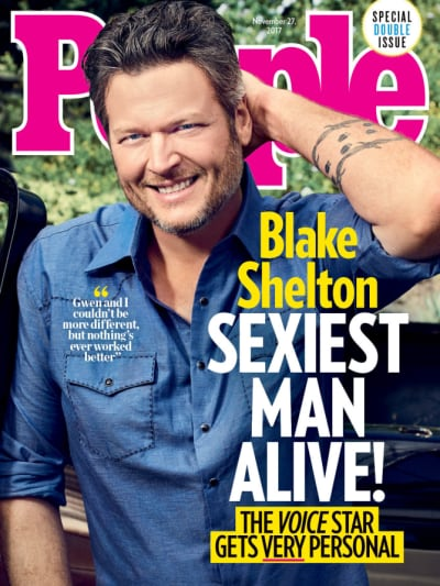 Blake Shelton People Cover