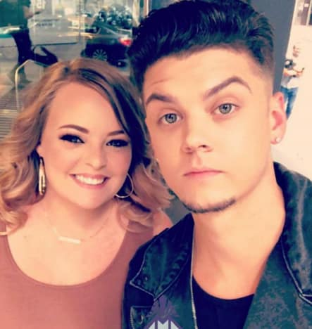 Catelynn Lowell and Tyler Baltierra, 2018 Selfie