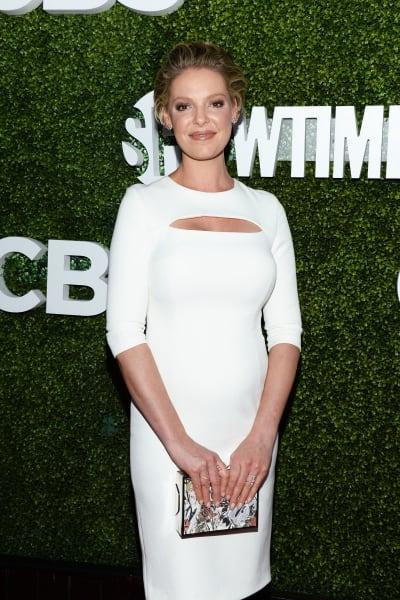 Katherine Heigl in White