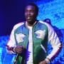 Meek mill in a jacket