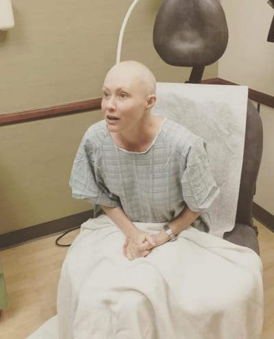 Shannen Doherty Bald Photo