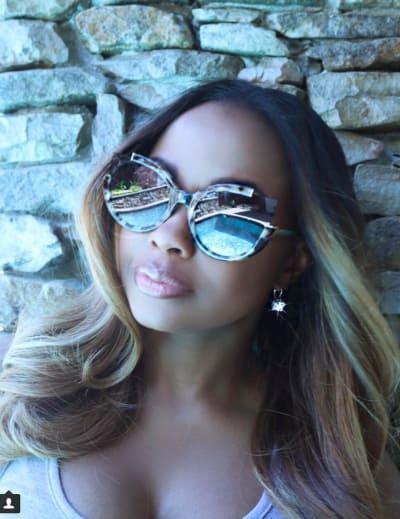 Phaedra Parks in Glasses