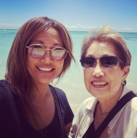 Carrie Ann Inaba, Mother In Hawaii