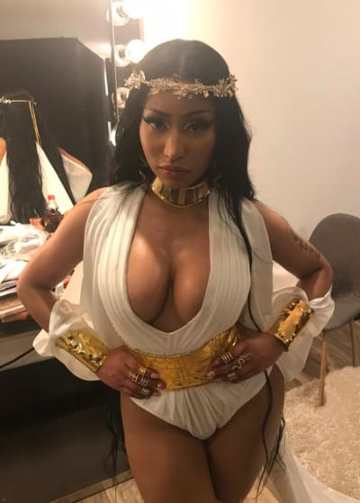 Nicki Minaj and Boobs