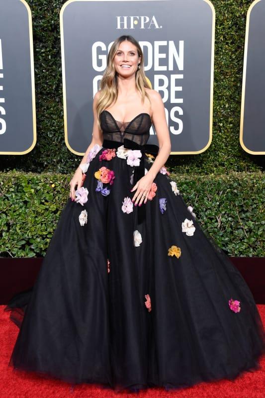 Heidi klum at the 2019 globes