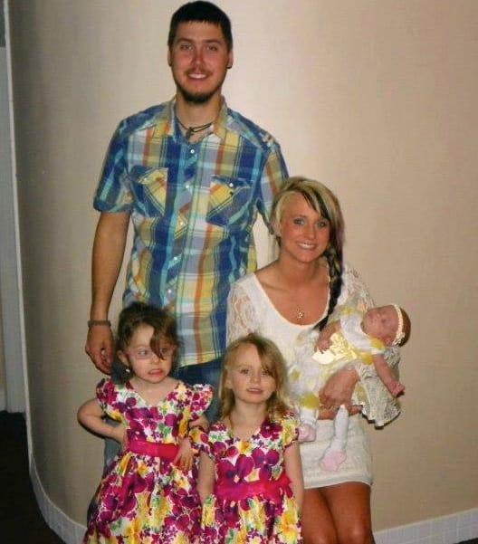Leah messer calvert family