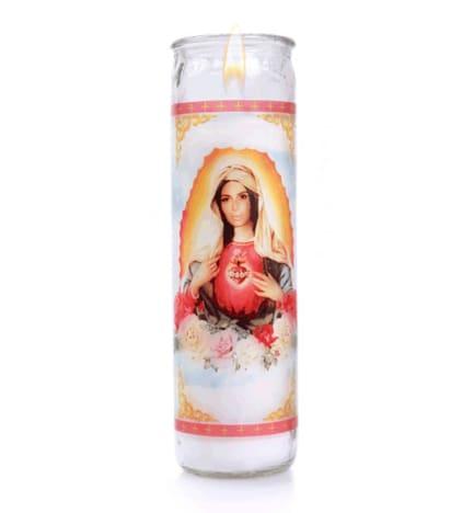 Kim Kardashian Virgin Mary Candle