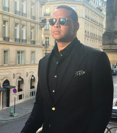 Alex Rodriguez in Paris