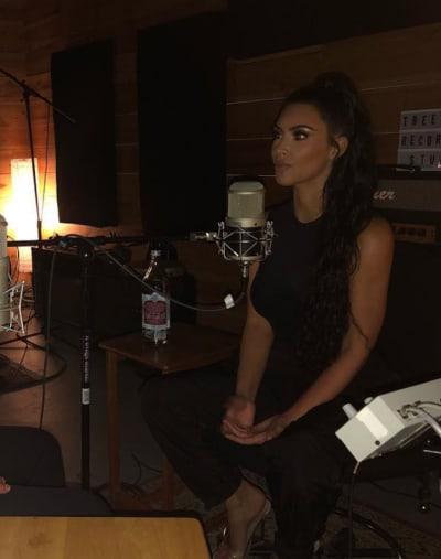 Kim Kardashian Gives Interview
