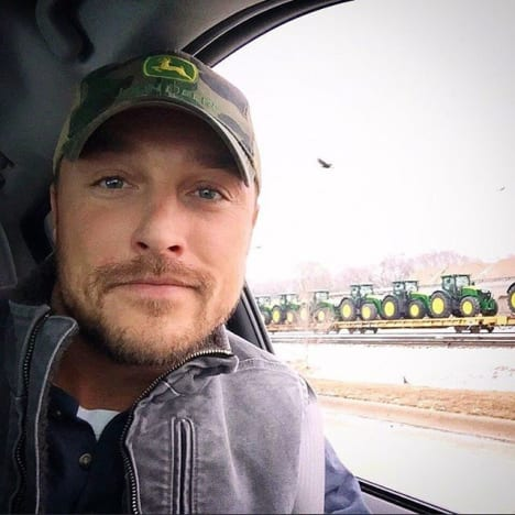 Chris Soules in Iowa