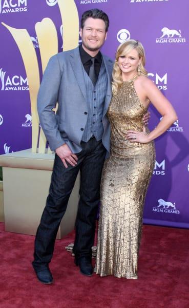 Miranda Lambert and Blake Shelton Picture